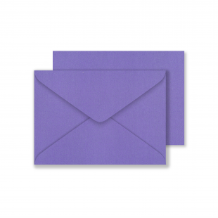 Lustre Print C6 Envelopes - Pearlised Plum
