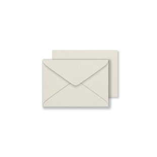 Luxury C7 Envelopes - Pearlised Ivory