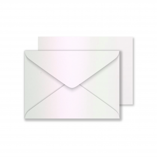 Lustre Print C6 Envelopes - Pearlised Glazed Pink