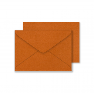 Lustre Print C6 Envelopes - Pearlised Copper
