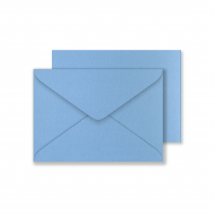 Lustre Print C6 Envelopes - Pearlised Maya Blue