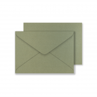 Lustre Print C6 Envelopes - Pearlised Mercury