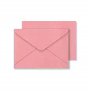 Lustre Print C6 Envelopes - Pearlised Persian Pink