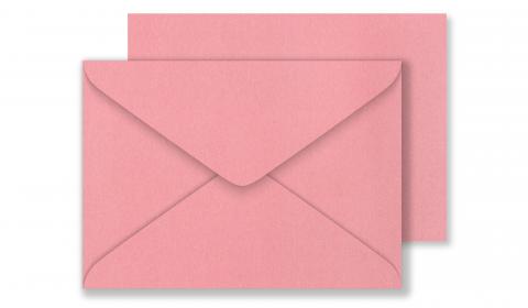 C6 Pearlised Persian Pink Envelopes (114mm x 162mm)