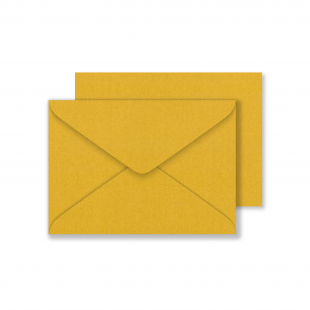 Lustre Print C6 Envelopes - Pearlised Tenne