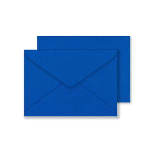 Lustre Print C6 Envelopes - Pearlised Yale Blue