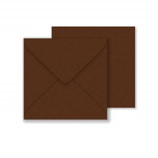 Lustre Print Square Envelopes - Pearlised Bon Bon