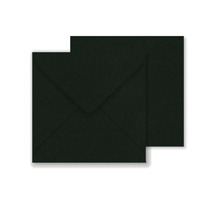 Lustre Print Square Envelopes - Pearlised Charcoal