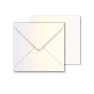 Lustre Print Square Envelopes - Pearlised Gold