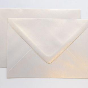Lustre Print Chroma C6 Envelopes - Pearlised Gold