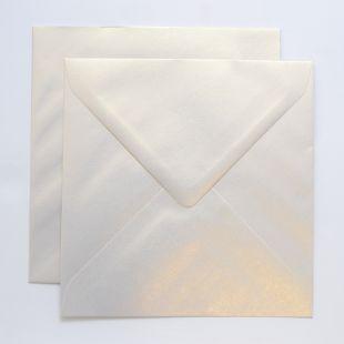 Lustre Print Chroma Square Envelopes - Pearlised
