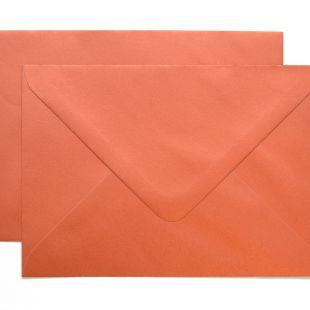 Lustre Print Royal C6 Envelopes - Pearlised Copper