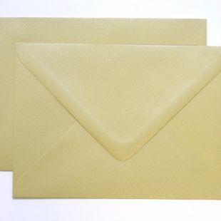 Lustre Print Silver C6 Envelopes - Pearlised Amarillo