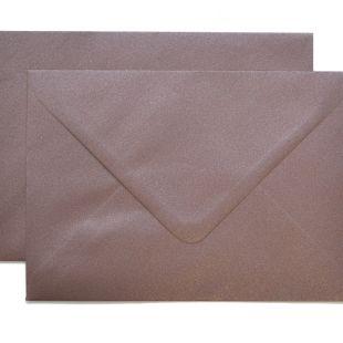 Lustre Print Silver C6 Envelopes - Pearlised Bon Bon