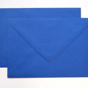 Lustre Print Silver C6 Envelopes - Pearlised Yale Blue
