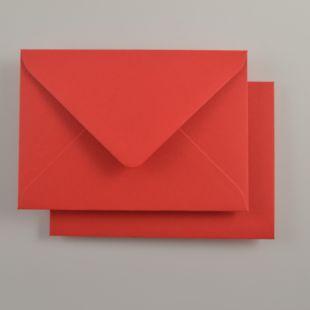 Luxury C6 Envelopes - Colours Post Box Red