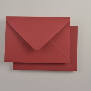 Luxury C6 Envelopes - Colours Scarlet