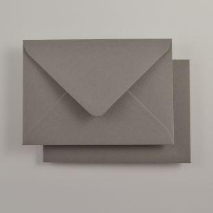 Luxury C6 Envelopes - Colours Smoke Grey