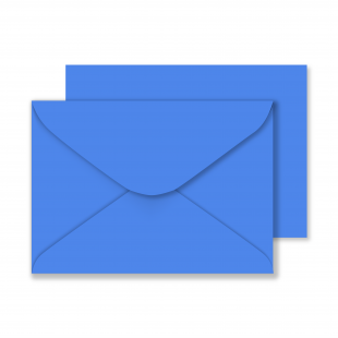 Luxury C5 Envelopes - Azure Blue