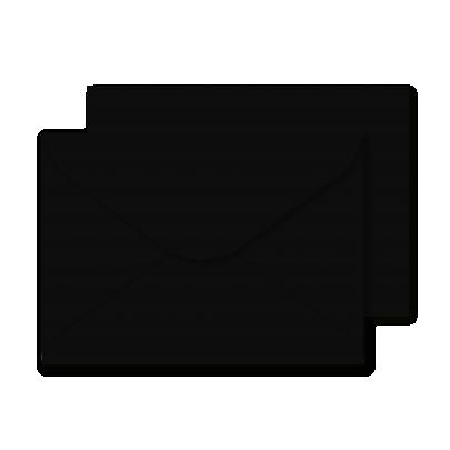 Luxury C5 Envelopes Black 01