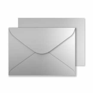 Luxury C5 Envelopes - Metallic Silver