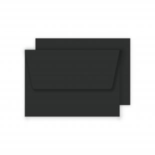 Luxury C6 Envelopes - Black