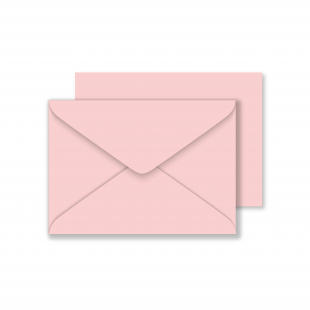 Luxury C6 Envelopes - Baby Pink