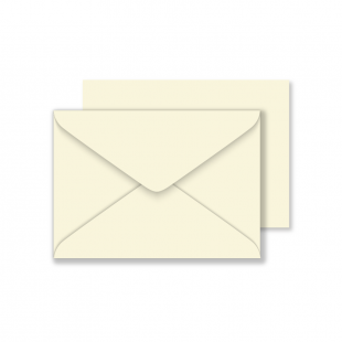 Luxury C6 Envelopes - Ivory 135gsm