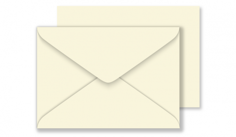 Ivory Rough Arena Envelopes C6 120gsm (114mm x 162mm)