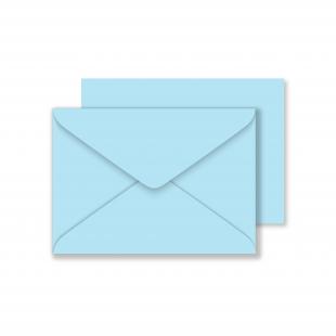 Luxury C6 Envelopes - Sky Blue