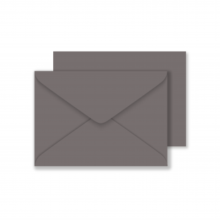 Luxury C6 Envelopes - Slate Grey