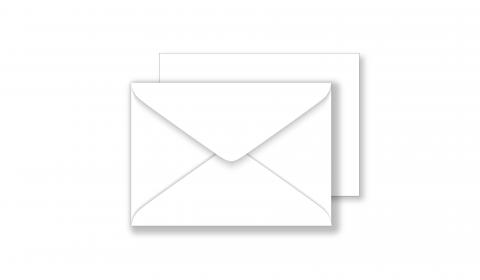 Essentials C7 White Envelopes