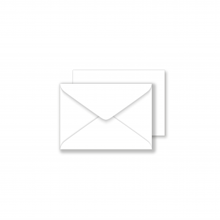 1000 Wholesale Luxury C7 Envelopes - Brilliant White