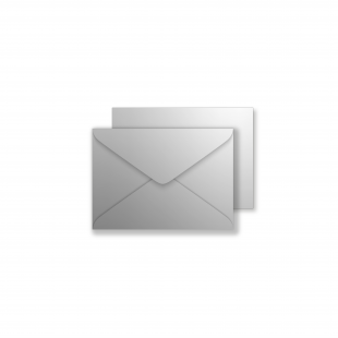 Luxury C7 Envelopes - Metallic Silver