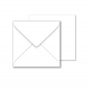 Luxury Square Envelopes - Brilliant White