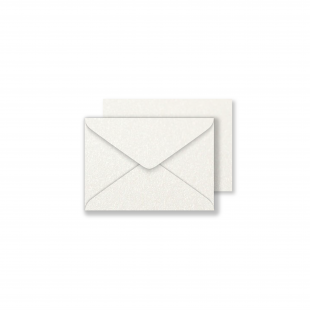 Luxury C7 Envelopes - Pearlised Natural White