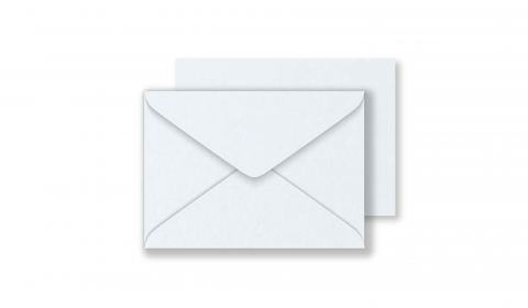 Luxury C7 Envelopes - Pearlised Ultra White