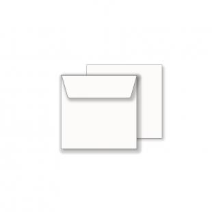 Essentials White Wallet Square Envelope- 100mm x 100mm