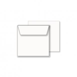 Essentials White Wallet Square Envelope- 120mm x 120mm