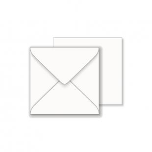 Essentials White Square Envelopes - 140mm x 140mm