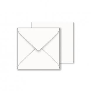 Square White Envelopes 100gsm (181mm x 181mm)