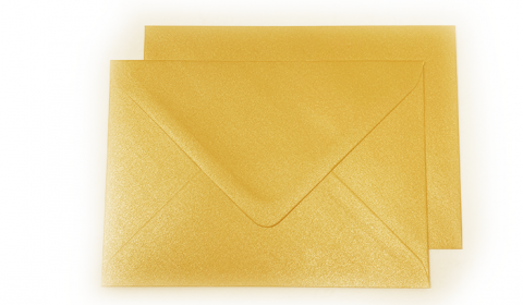 C6 Pearlised Royal Gold (Tenne) Envelopes (114mm x 162mm)