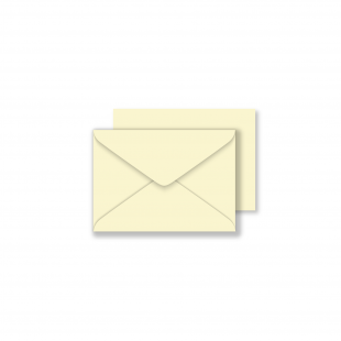 C7 Vanilla Envelopes 130gsm (82mm x 220mm)