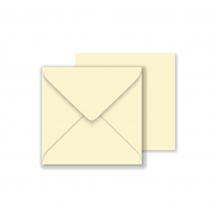 1,000 Wholesale Square Vanilla Envelope 130gsm (130mm x 130mm)