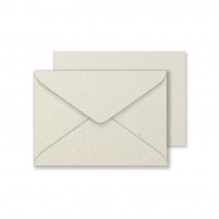 Luxury C6 Envelopes - Pearlised Ivory