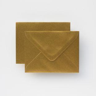 Luxury C6 Envelopes - Metallic Gold