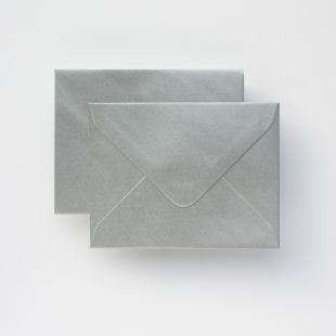 Luxury C6 Envelopes - Metallic Silver