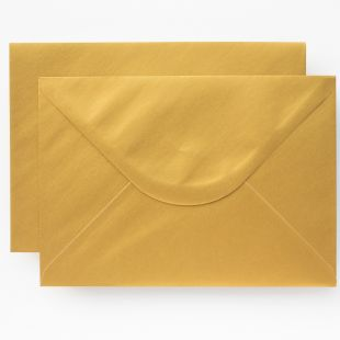 Luxury C7 Envelopes - Metallic Gold