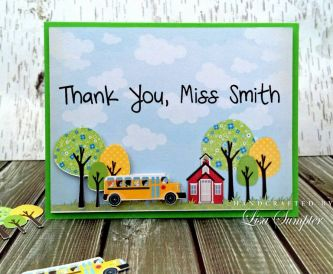 Project - Teacher's Thank You Card Idea