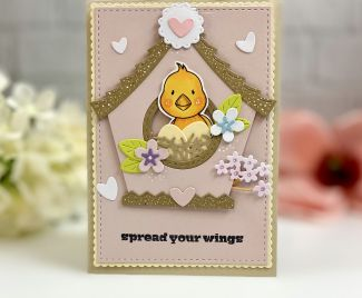 Spread Your Wings Bird Card